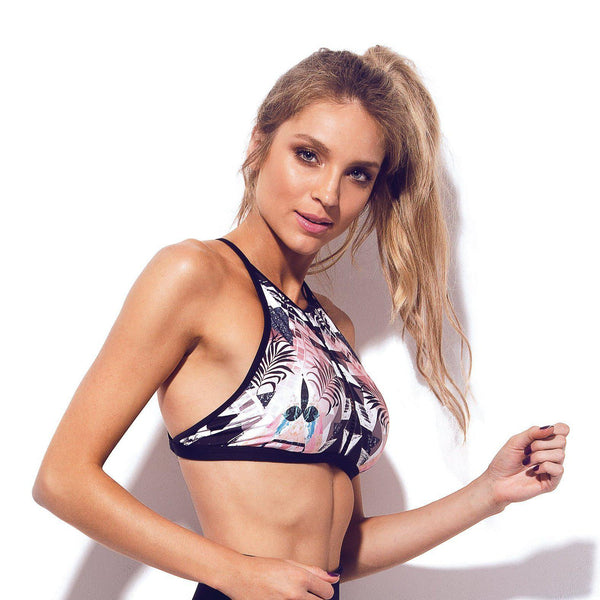 URBAN High Neck Bikini Top-Brazilian-Swimwear-VOLP