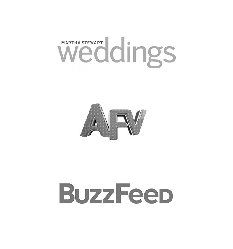 Aure Seen In Martha Stewart Weddings, Americas Funniest Home Videos, and BuzzFeed