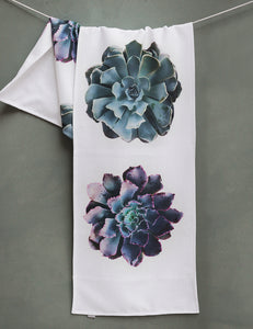 Succulent Table Runner