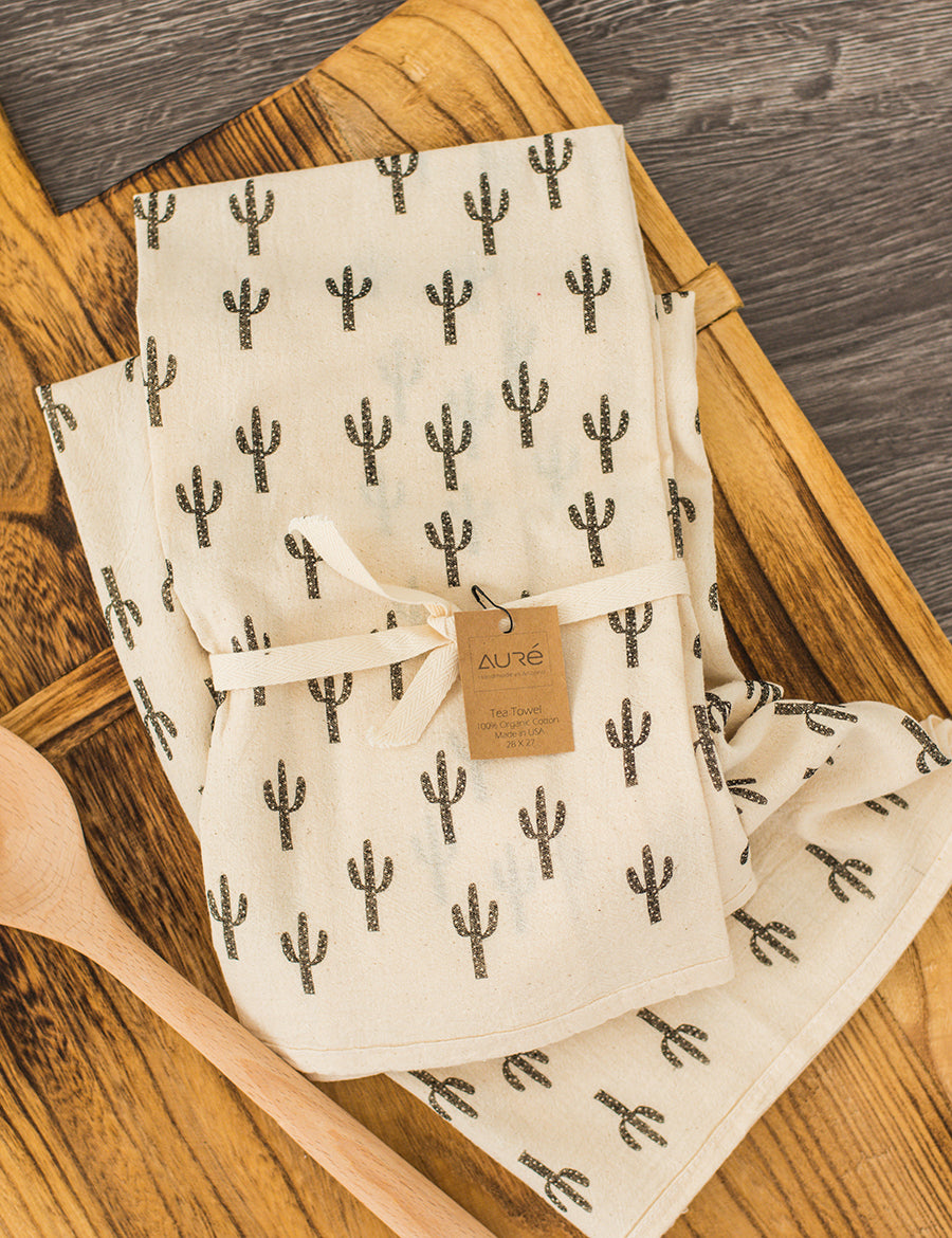 Organic Saguaro Tea Towel