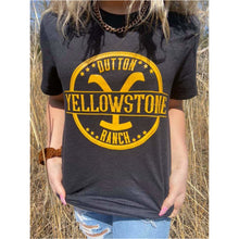 Load image into Gallery viewer, Yellowstone Graphic Tee