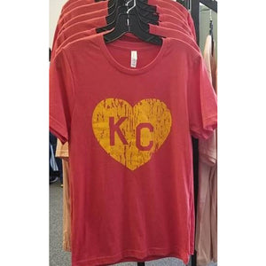 KC Heart Graphic Tee