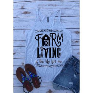 Farm Living Graphic tee or Tank