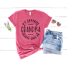 Load image into Gallery viewer, Grandma Graphic Tee