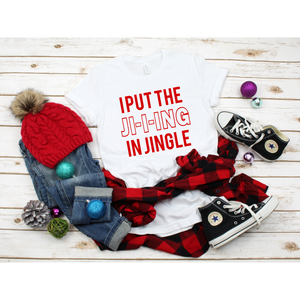 Graphic Tee: Jingle | Printed in the USA