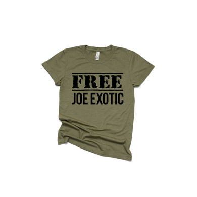 Free Joe Exotic Graphic Tee