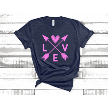Load image into Gallery viewer, Love Arrow graphic Tee