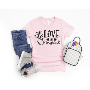 Love is Magical Graphic Tee