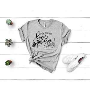 Vow to Love you during racing season graphic tee