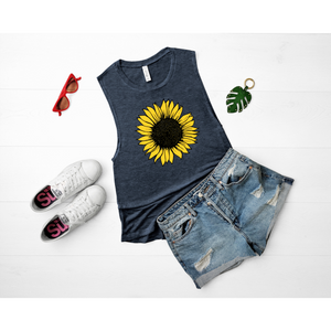 Sunflower Graphic Tee or Tank