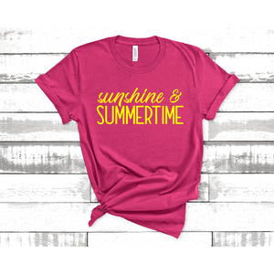 Sunshine and Summertime Graphic Tee