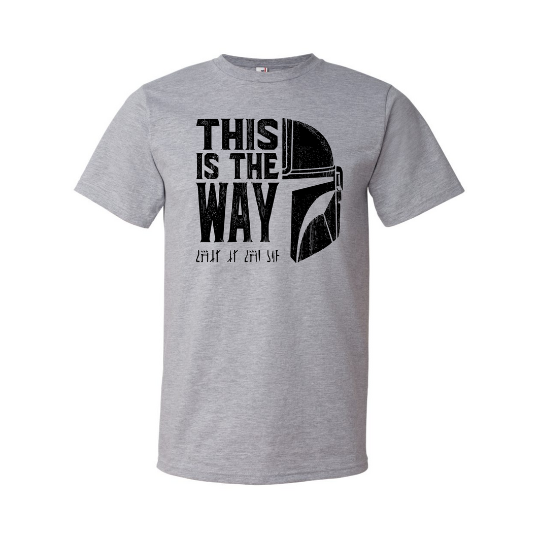This is the Way graphic tee