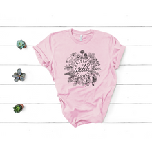 Load image into Gallery viewer, wild flowers graphic tee