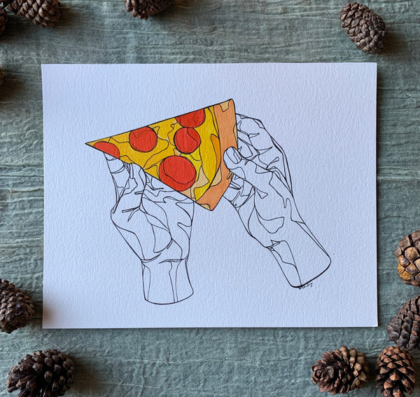 Pizzzzza - Meredith Richey Art