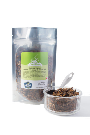 Chili Lime Crickets - Large Bag