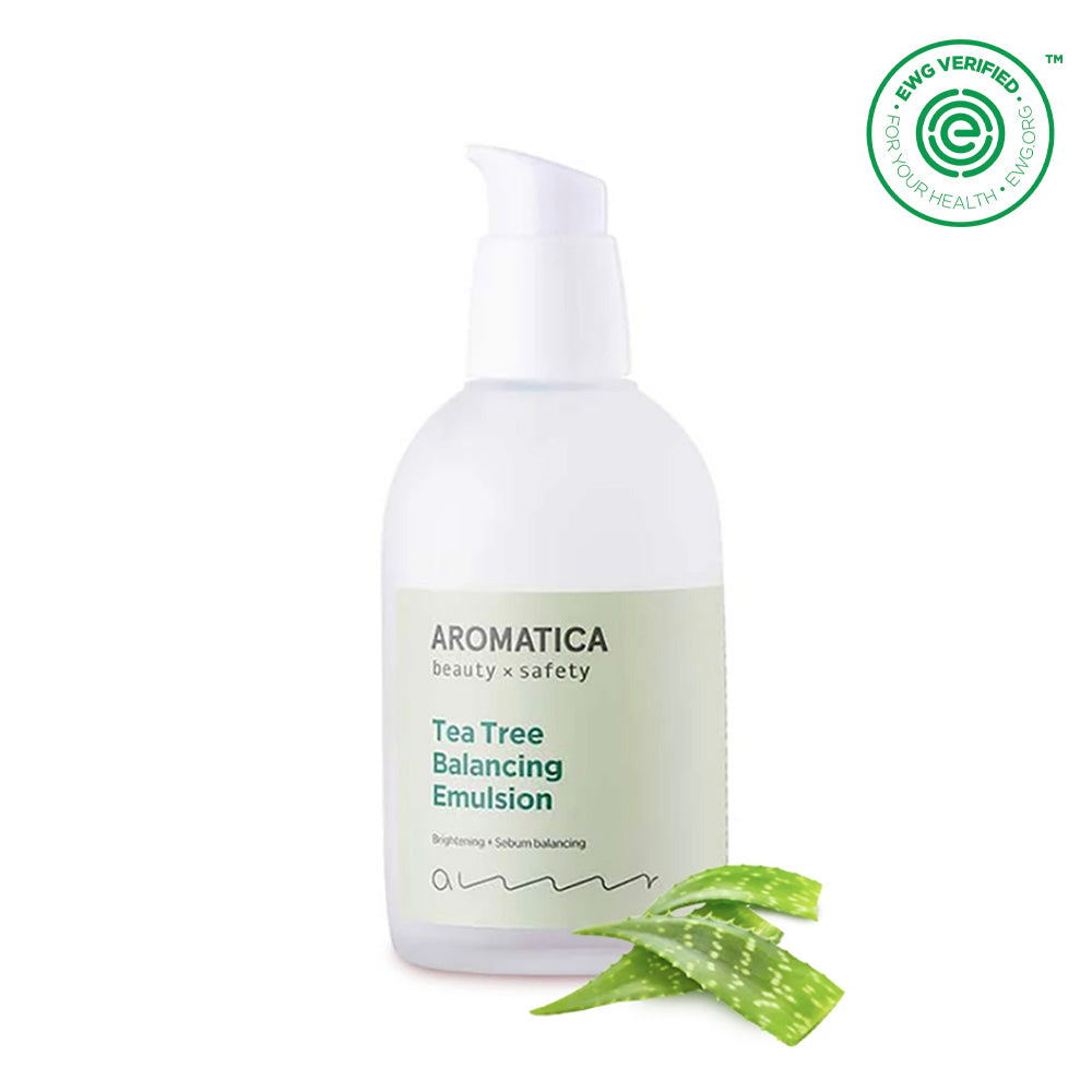Tea tree balancing emulsion cream