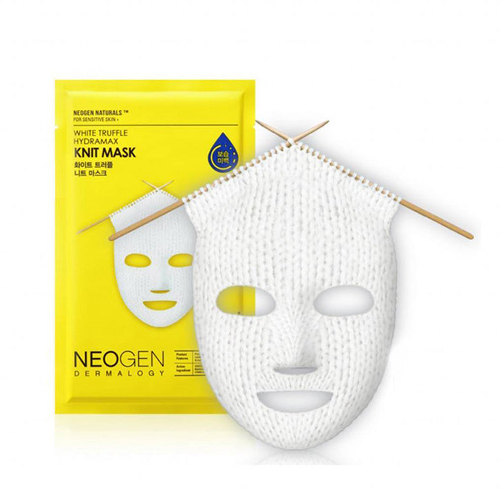 Neogen white truffle hydramax knit Sheet mask