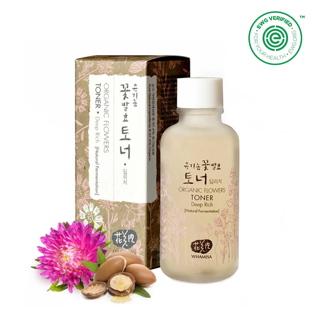 Organic flower deep rich Toner