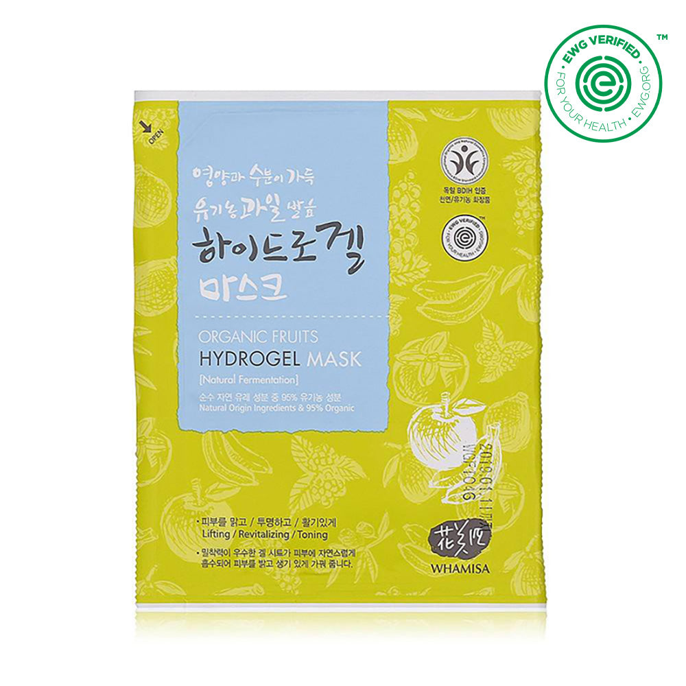 Organic fruits hydrogel Sheet mask