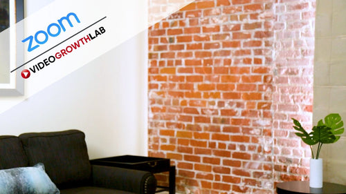 Brick Wall ZOOM Video Conference Background