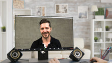 Load image into Gallery viewer, Concrete Wall (A) ZOOM Video Conference Background