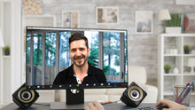 Load image into Gallery viewer, Corner Backyard View ZOOM Video Conference Background
