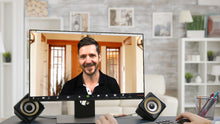 Load image into Gallery viewer, House Entrance ZOOM Video Conference Background