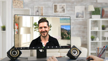 Load image into Gallery viewer, Living Room TV - Canyon (B) ZOOM Video Conference Background