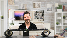 Load image into Gallery viewer, Living Room TV - House (A) ZOOM Video Conference Background