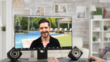 Load image into Gallery viewer, Pool View (Sitting) ZOOM Video Conference Background
