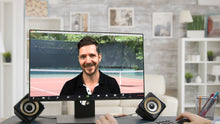 Load image into Gallery viewer, Tennis Court ZOOM Video Conference Background