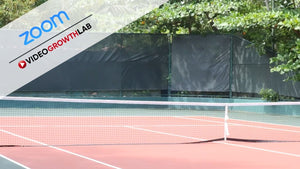 Tennis Court ZOOM Video Conference Background
