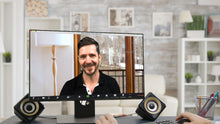 Load image into Gallery viewer, Window with Woods (B) ZOOM Video Conference Background
