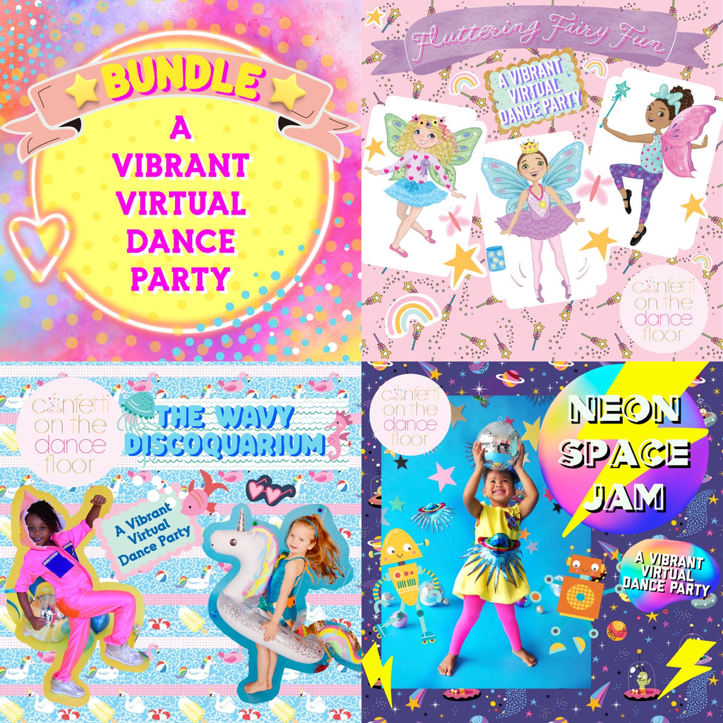 Vibrant Virtual Dance Party 3-Pack Bundle - Download