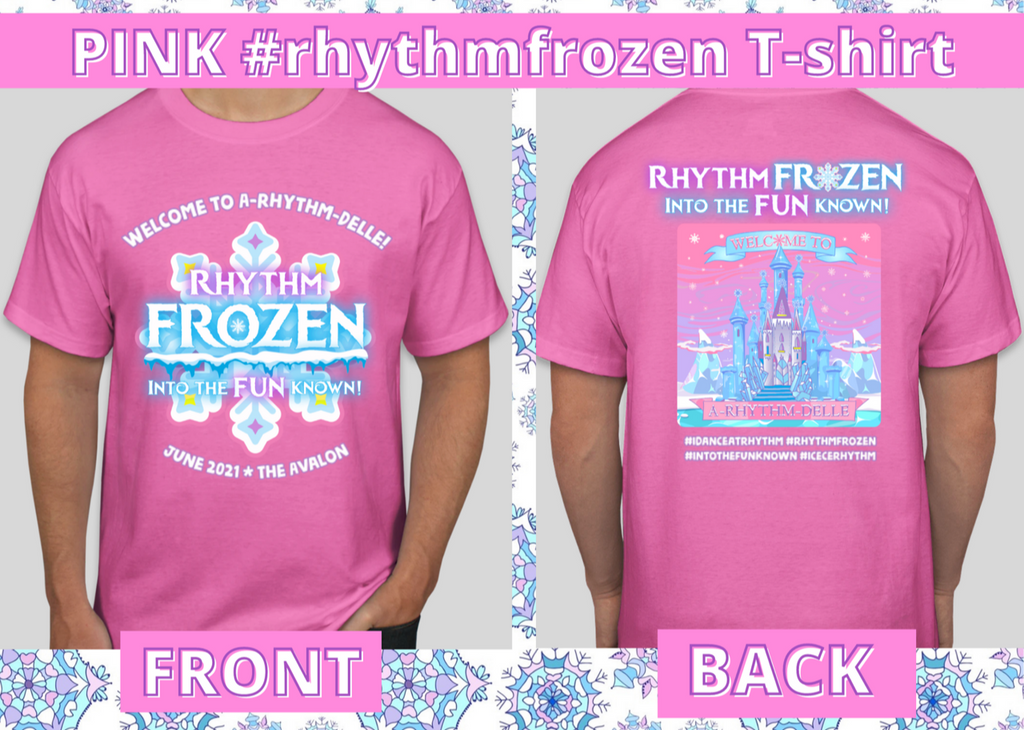 Rhythm Frozen: Into the FUNknown T-shirt **FOUR Colors Available!** PRE-ORDER