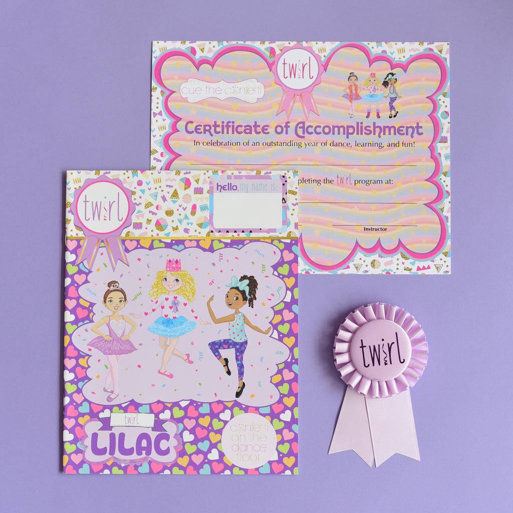 Twirl Pack Lilac (ages 3-4)