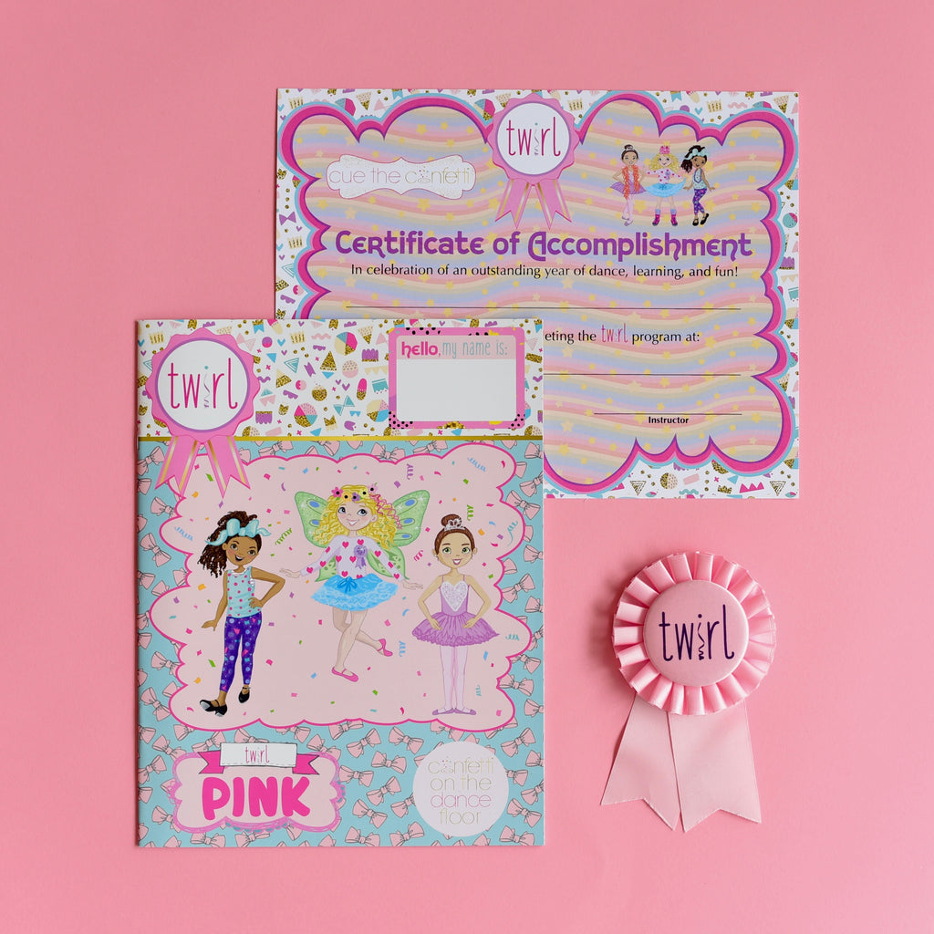 Twirl Pack Pink (ages 2-3)