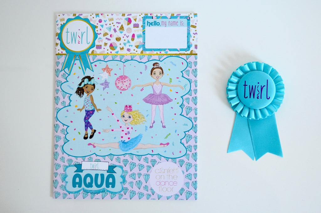 Twirl Pack Aqua (ages 5-6)