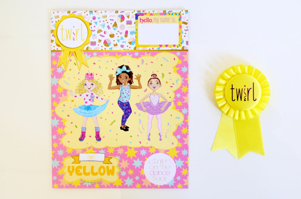 Twirl Pack Yellow (ages 4-5)