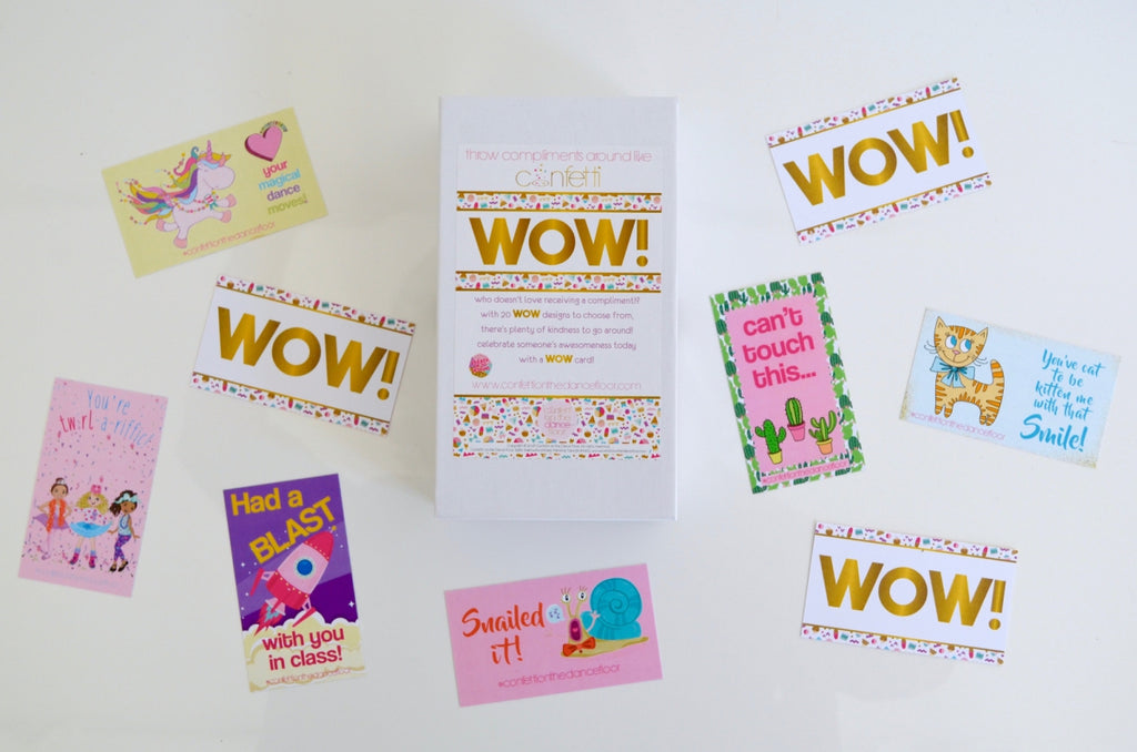 Wow Compliment Cards Original
