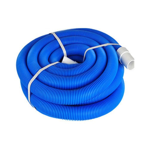 Swimming Pool Vac Hose 15 Inch Cuffed 9m For Vacuum Suction Pools
