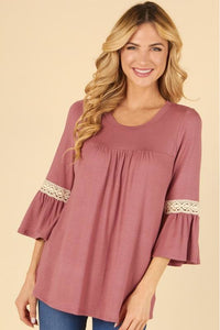Little Obsession Top (Marsala or Black)