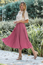 Load image into Gallery viewer, Pleated Night Out Skirt