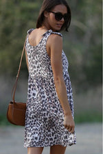 Load image into Gallery viewer, Cheetah Midi Dress