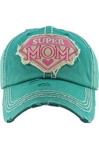 Super Mom Baseball Cap