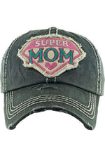 Load image into Gallery viewer, Super Mom Baseball Cap