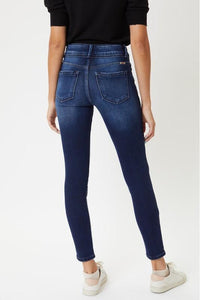 In Stock Kan Can High Rise Banded Skinnies