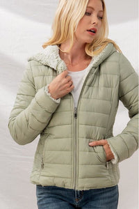 The Coziest Puffer Jacket
