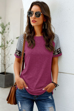 Touch of Leopard Tee