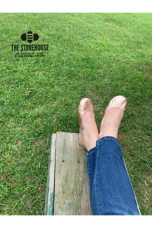 In Stock The Storehouse Flats-Golden Rose Classic
